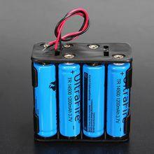 Hot Battery Holder Case 12 Volt 12V Battery Clip Slot Storage Holder Box Case 8 AA Batteries Stack 6 Leads Wire hl 2017 diy 12v 8 x aa battery holder case box with leads switch may8
