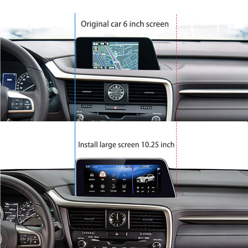 LiisLee Car Multimedia GPS Audio Radio Stereo For Lexus RX RX300 RX350 RX400h RX450h 2016~2018 Original Style Navigation NAVI (8)