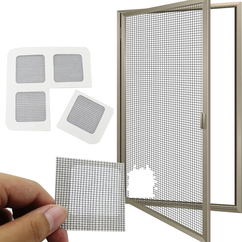 Summer Anti-Mosquito Fill In The Loophole Mosquito Window Screen Sticker Home Anti Mosquito Repair Screen Patch Stickers