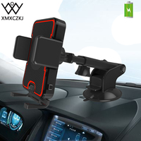 XMXCZKJ Automatic Induction Wireless Charger Car Mount Phone Holder Stand For Iphone X Car Sucker Wireless Fast Charging Holder