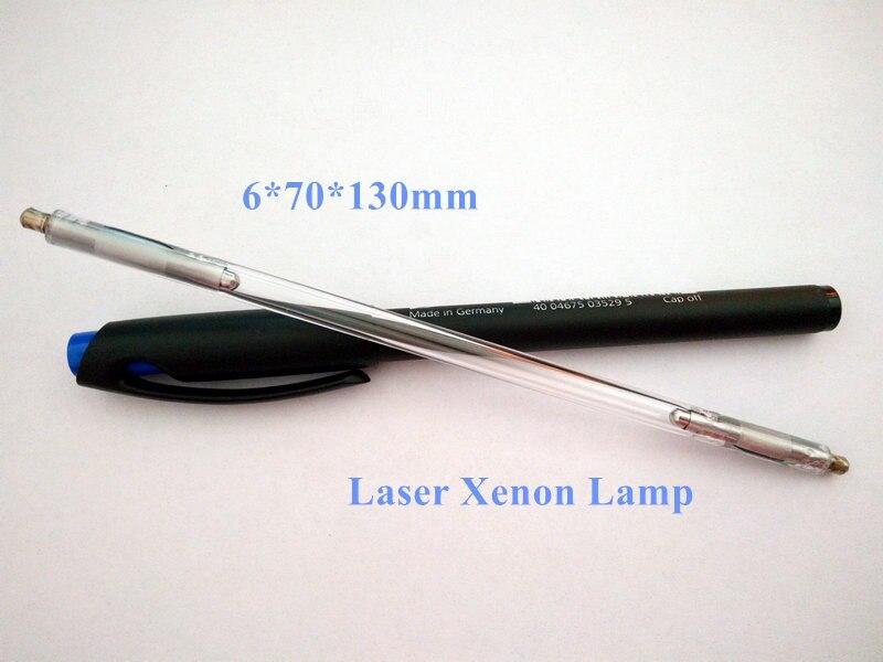 Nd Yag Laser Lamp 6*70*130mm Laser Xenon Lamp цена 2017