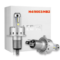 KOOMTOOM 2pcs H3 LED Light Bulbs For Cars H7 H4 LED HB2 9003 H1 H3 9005