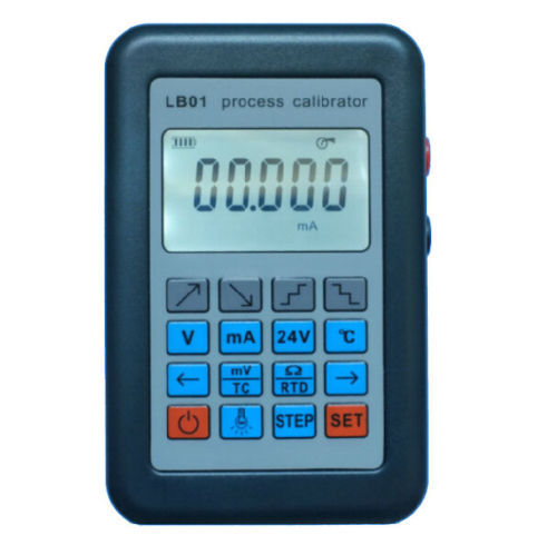 LB01 Update Resistance Current Voltmeter signal generator source Process calibrator 4-20mA/0-10V/mV LCD display 4 20ma signal generator 24v current and voltage transmitter calibrator signal source 0 10v constant current source simulation