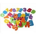 36 pçs/set Letras Alfanuméricos Números Puzzle Banho EVA Macio Crianças Brinquedos Do Bebê Novo Brinquedo Educativo Cedo Ferramenta Crianças Brinquedos de Banho brinquedo