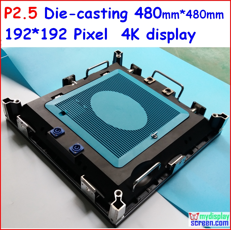 P2.5 Led Display, 4K Utral Clear Die-casting,Indoor Usage And Video, 480mm*480mm,high Frefesh, High Gray Grade