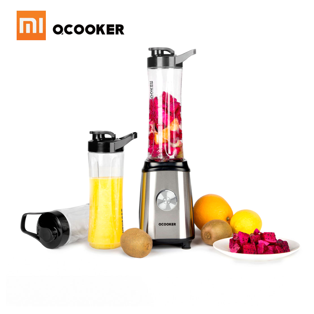 Xiaomi Ocooker Portable Juicer Baby Fruit and Vegetable Cooking Machine Point Switch 304 Stainless Steel 8