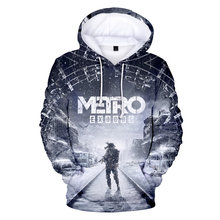 Hot Metro exodus subway leaving Hoodies sweatshirts 3D Print