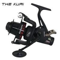 TheKuai Dual Brake CNC Rocker Fishing Reel Carp Fishing Reel Spinning Fishing Reel 13+1BB 5.2:1 Casting Double Brakes