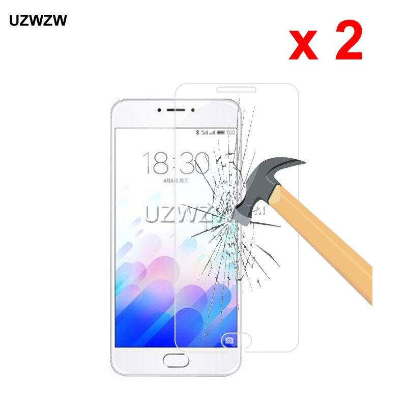 2pcs For Meizu M3 Note Premium 2.5D 0.26mm Tempered Glass Screen Protector For Meizu M3 Note M681Q Protective Glass
