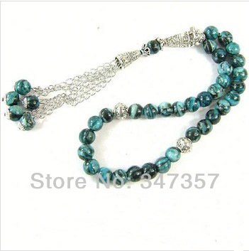 New Design AAA Natural Malachite Stone Round Shape 33 Prayer beads Islamic Muslim Tasbih Allah free shipping rudolf gaudio pell allah made us sexual outlaws in an islamic african city