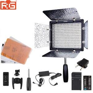 Image 1 - YONGNUO YN300III YN 300III YN300 5500K ไฟ LED สีขาวสำหรับสตูดิโอถ่ายภาพแต่งงาน,แบตเตอรี่เสริม + อะแดปเตอร์ AC + Softbox