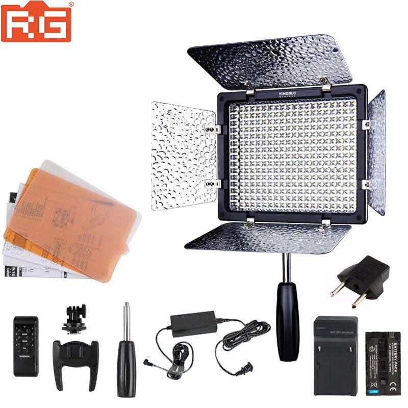 YONGNUO YN300III YN 300III YN300 5500K белый светодиодный светильник для свадебной фотосъемки, дополнительный комплект аккумуляторов + адаптер переменного тока + софтбокс|Фотографическое освещение|   | АлиЭкспресс