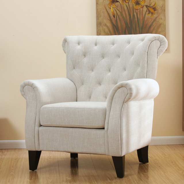 Delicieux One Hundred American Fabric / Armchair / Den / Hotel / Living Room / Office  /