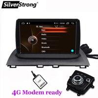 Silverstrong 9 дюймов Android9.1 4 аппарат не привязан к оператору сотовой связи модем gps радио для нового Mazda3 mazda 3 Axela Автомагнитола Поддержка системы к