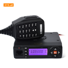 Hot Sell VHF UHF Dual Band 10W Car walkie talkie Mini Mobile Radio Transceiver Two Way Radio with cable and software