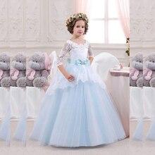 Compra fashion flower girl dress y disfruta del envío gratuito en  AliExpress.com dbc064cf9de2