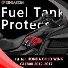 KODASKIN Motorcycle Gas Cap Tank Pad Sticker Decal Emblem for HONDA GOLD WING GL1800 2012-2017