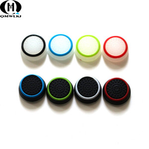 Image 5 - 2Pcs For Sony Playstation 4 Rocker Non slip Soft  Anti Skid Game Joystick Caps Gamepad Button Protects  Protective Cover Rocker