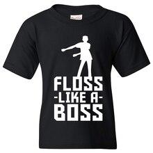 a782b5b2 2018 Summer Boys T Shirts Roblox Gamer Fortnight Cotton T-shirt Girls Floss  Like A Boss Kids Funny tshirts tops tees Clothes