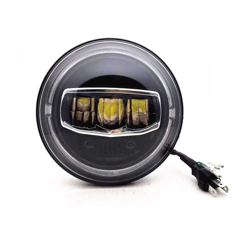 BIG SALE] New Car LED 7 Inch Round Headlight DRL Turn Signal
