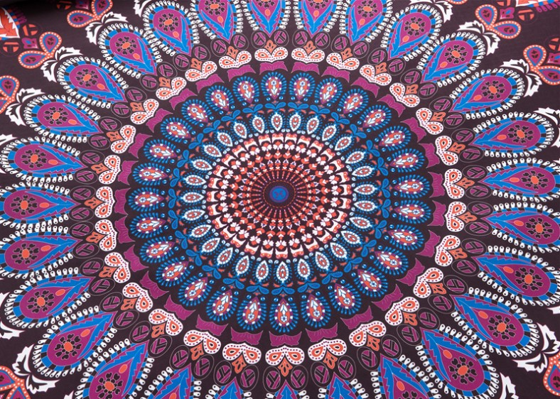 Boho Bedding sets Mandala Bohemian duvet cover set doona qulit covers Super King Queen size Full double bed in a bag totem 3PCS