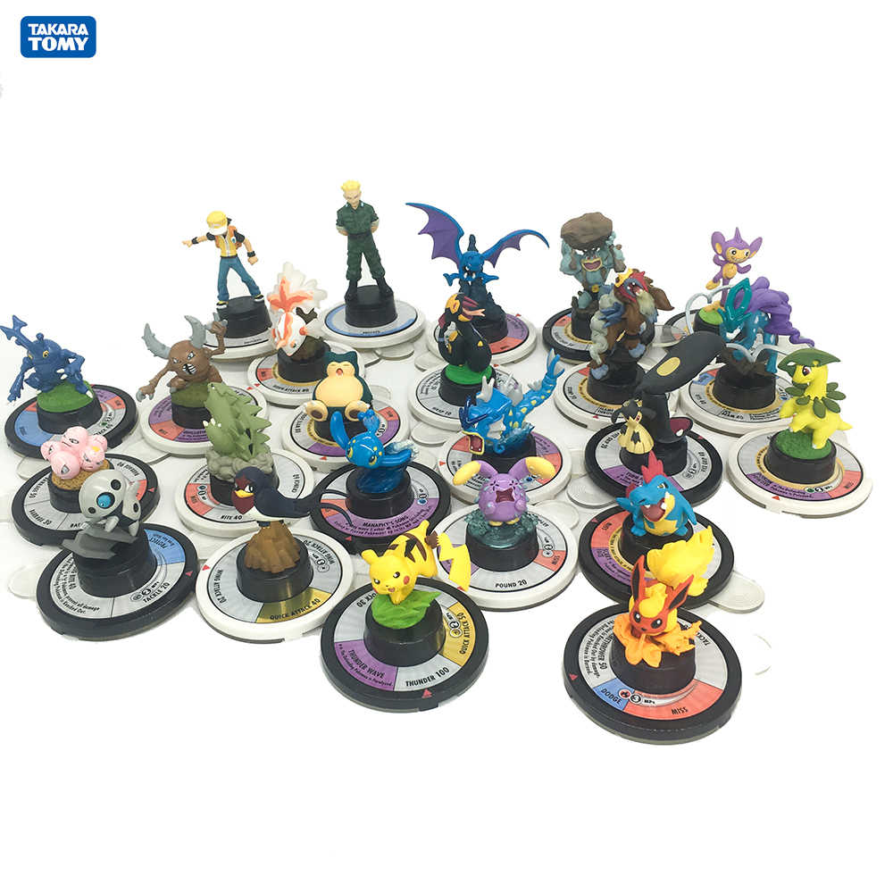 Фигурка из японского аниме Такара Tomy Игрушка Покемон, монстр Коллекционные Фигурки военные шахматы, настольные игры модель для детей