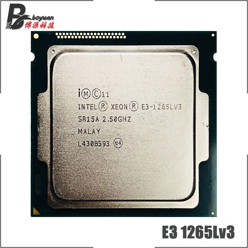 Intel Xeon E3-1265L V3 E3-1265LV3 2.5GHz LGA1150 CPU Processor