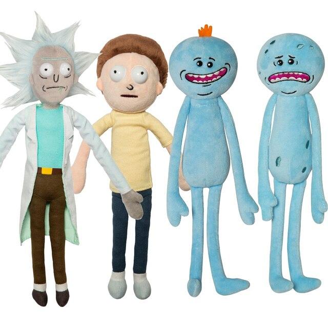 Рик Морти и Счастливы и Грустно Meeseeks Кукла Плюшевые Игрушки