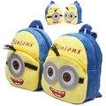 Minion mochila Rugzak Modo Nieuwigheid Niños Schooltassen Rugzak de Dibujos Animados/de la muchacha/niños Kindergarten bolsa sac a dos enfant