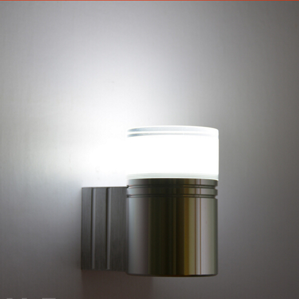 3W LED Wall Light Acrylic abajur Aluminum Material Indoor Sconce AC110-240V Free Shipping