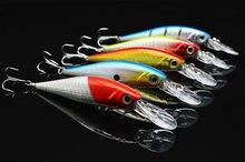 Bait Minow Bionic Lure Fishing Tackle Ocean fishing 10.5 Cm 9.5g 10/Pack Sea water fishing Free shipping