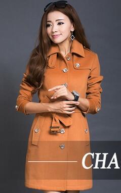 Gratuite D'hiver Personnalité Livraison 2016 Noir Robe 4xl Manteau De S Laine 3xl Tranchée Mode 4xl Mince Nouvelles orange Femmes wafIqPa