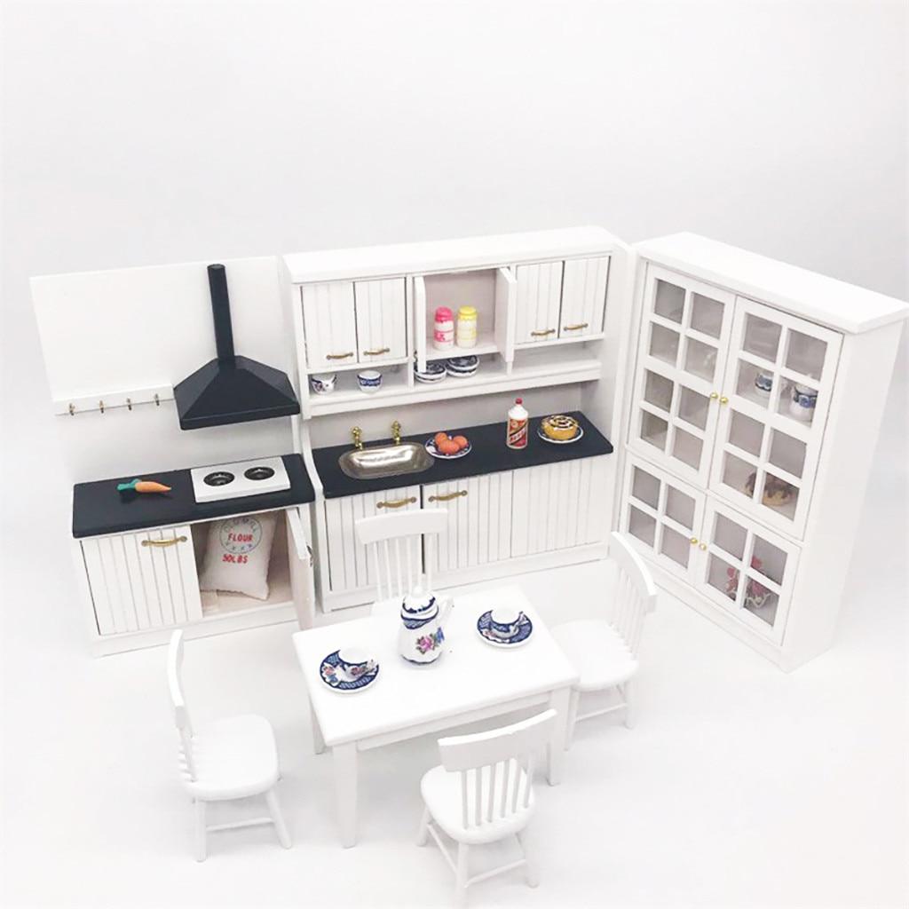 1 Set 4 pieces Dollhouse Miniature Plastic Beer Mug TS