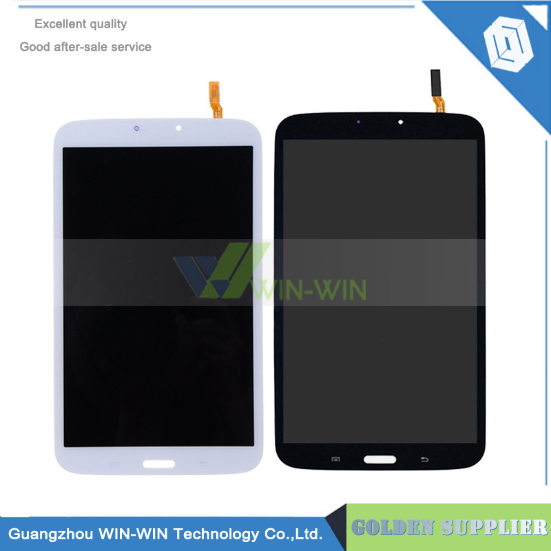 Black/White Color LCD For Samsung Galaxy Tab 3 8.0 SM-T310 T310 LCD Display With Touch Screen Digitizer Assembly white 8inch for samsung for galaxy tab 3 sm t310 t310 lcd display screen touch digitizer sensor full assembly tablet pc
