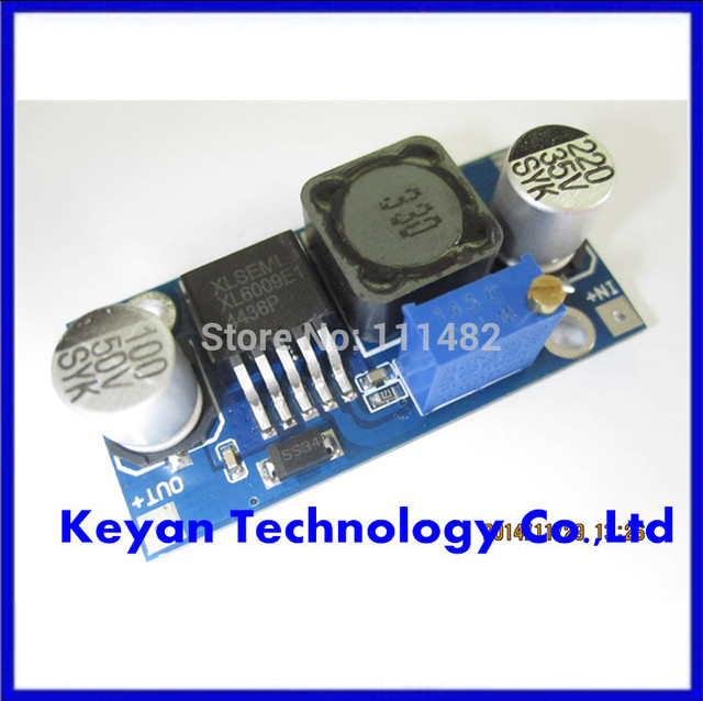 !!!10pcs/lot XL6009 DC-DC Booster module Power supply module output is adjustable Super LM2577 step-up module