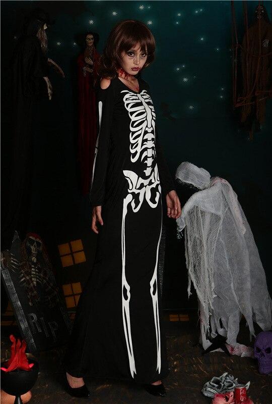 Black Skeleton dress (5)