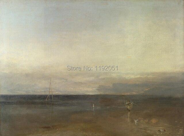Oeuvre Romantique paysage marin romantique paysage toile peinture chef d 'œuvre
