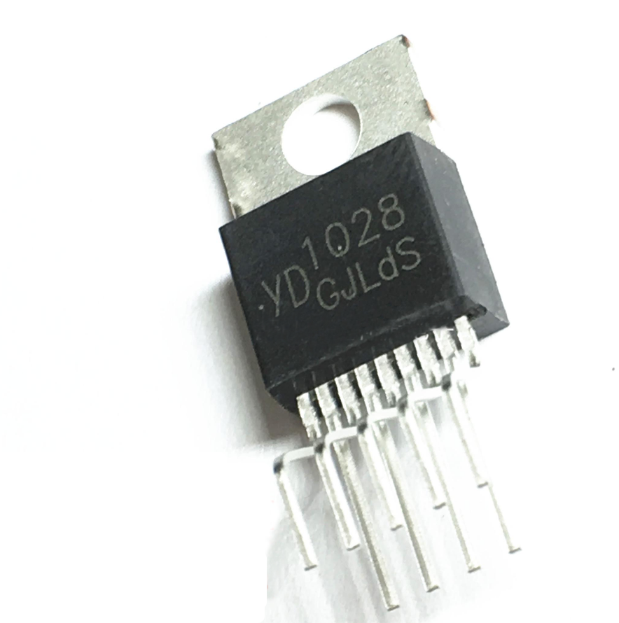 1pcs/lot YD1028 1028 New Original TO220-9 1028TO-220 Two-channel Audio Power Amplifier Tube