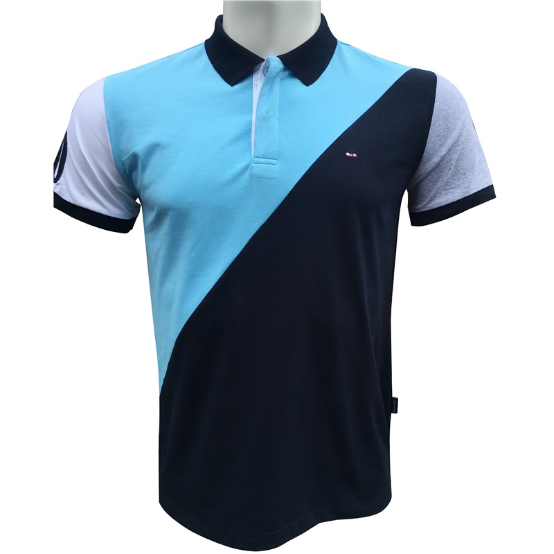 New mens Summer Short Sleeve High Quality france Brand EDEN PARK Patchwork Mens   Polo   Shirt Superior Cotton MateriaL Anti-pilling