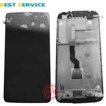100% neue Für Alcatel One Touch Idol 3 OT6039 6039 LCD Display mit Touch Screen Digitizer + Frame Assembly Schwarz Kostenloser Versand