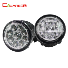 Cawanerl 2 x Car H8 H11 LED Light Fog Light font b Lamp b font DRL