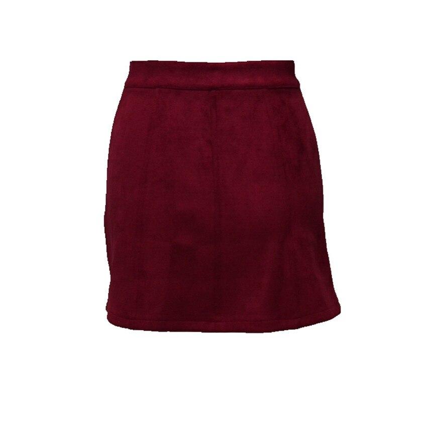 HTB18gzYPpXXXXaCXpXXq6xXFXXXG - Spring Button Suede Leather Skirts JKP058