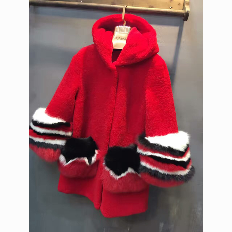 High Quality Red Coats Fur Hoods Promotion-Shop for High Quality ...