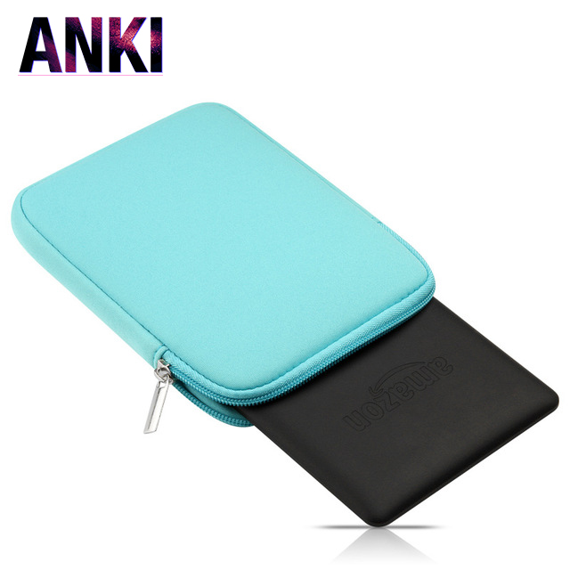 6 Inch Tablets e-Books Case for Kindle kpw 3 Solid Pink Cover Bag For Kindle 499 558 Black Sleeve Pouch For Kindle Paperwhite sleeve pouch case for amazon kindle paperwhite new kindle kindle voyage 6 inch easy carry e book e reader sleeve cover case bag