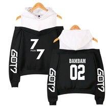 BTS Got7 k-pop con capucha shoodies otoño Sudadera Mujer invierno moda  casual hip hop divertido bts ropa XS-2XL 56addc627b8
