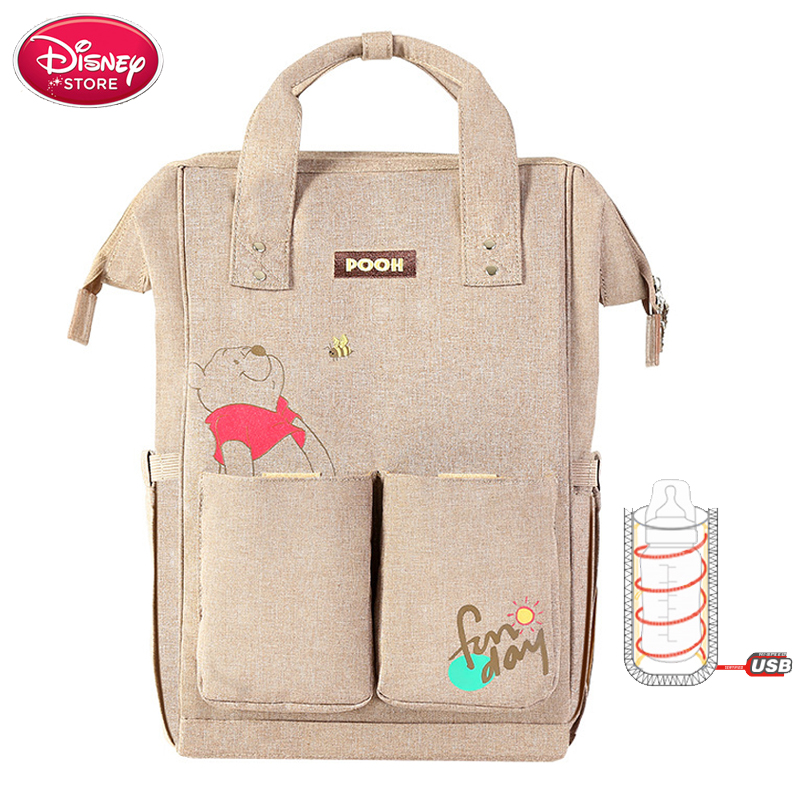 Disney Mickey Mummy Diaper Bags Maternity Nappy Large Capacity Baby Bags Travel Backpack Desinger Nursing Bag For Baby Care