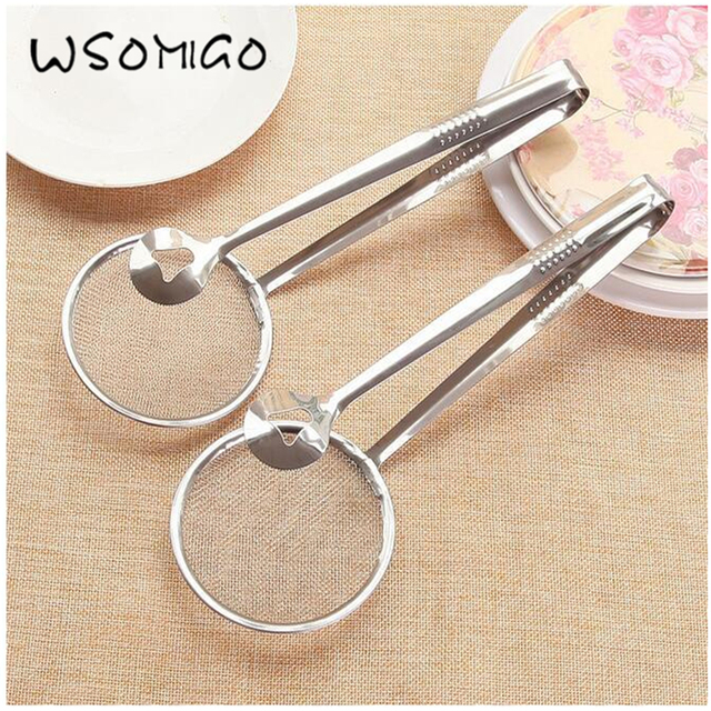 Multi functional Stainless Steel Frying  Spoon  and Strainer