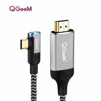 USB C к HDMI Кабель-адаптер 4 К 1080 P 60 Гц USB Type C к HDMI 2.0 кабель Thunderbolt 3 кабель для Macbook Huawei Mate10 Sumsang S8