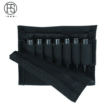 Nylon Tactical Nylon Buttstock Pouch Hunting Shooting Game Rifle Accessories Cheek Shell Cartridges Holder Carrier 2