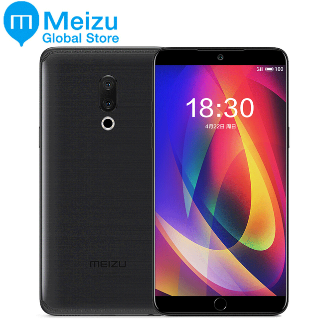"Original Meizu 15 PLUS 6GB RAM 128GB ROM Exynos 8895 4G LTE Octa Core 2.3GHz Smart Phone 5.95"" 2560x1440P Super AMOLED"